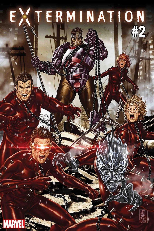 Ed Brisson Promises Continuity Porn for Extermination, Plus Things Get Ruff for the Original 5 X-Men