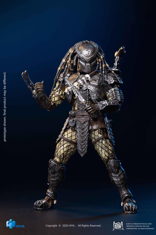 Hiya Toys Alien Hunter AVP Figure