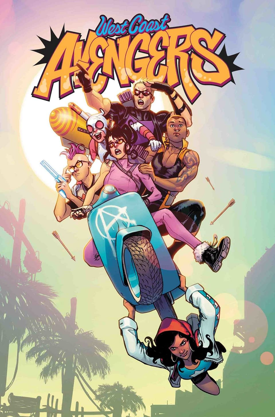 The West Coast Avengers Return in New Series by Kelly Thompson and Stefano Caselli