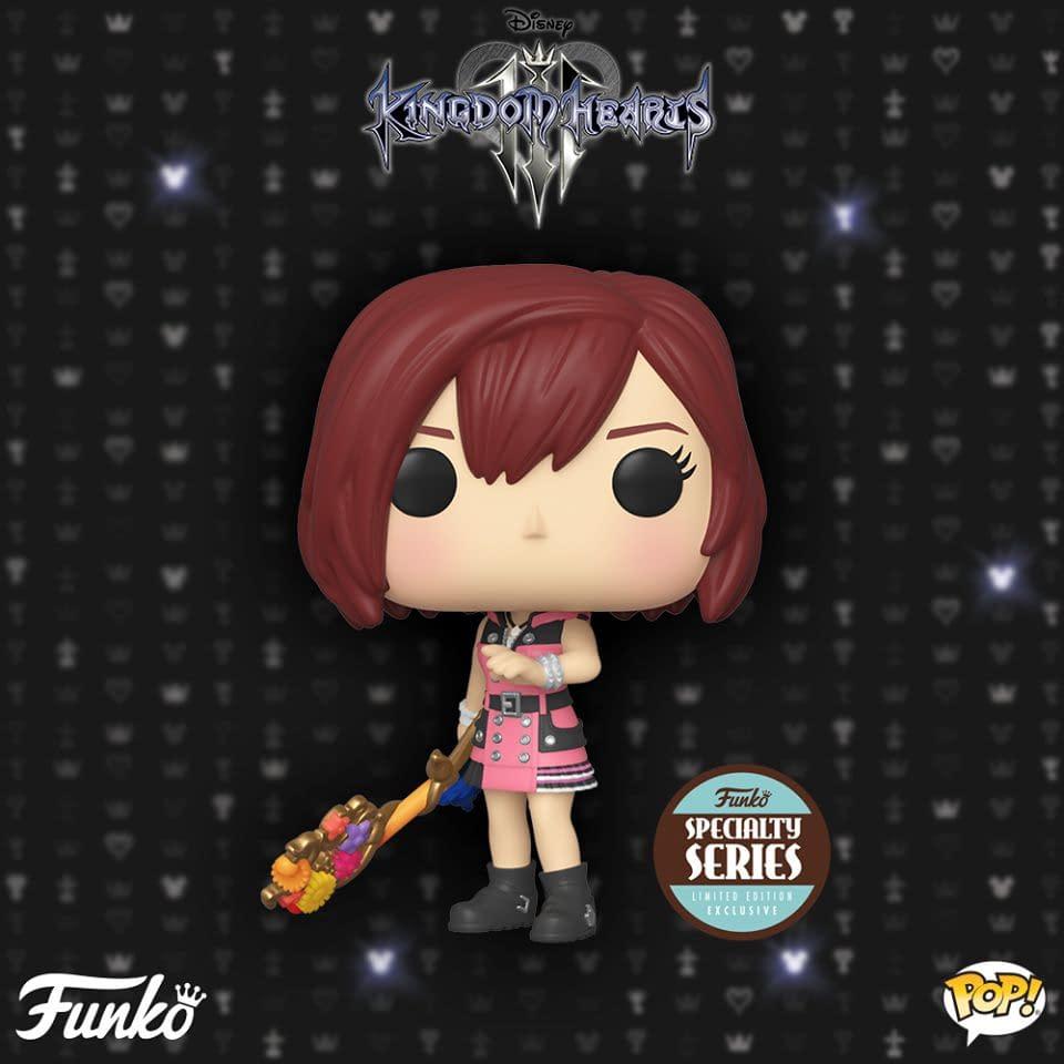 "New ""Kingdom Hearts"" Pops Announced By Funko"
