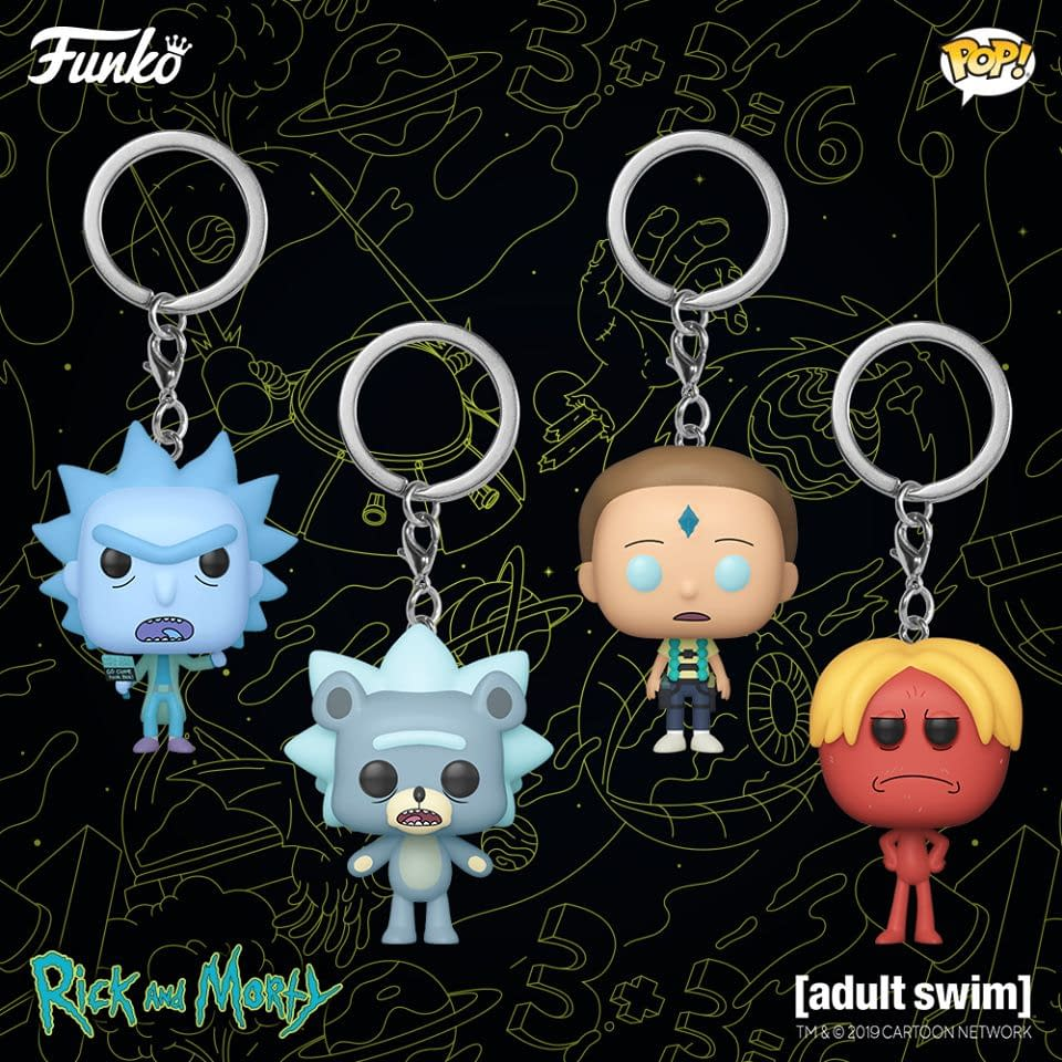 Rick and Morty Get More Collectibles from Pops to Pens with Funko