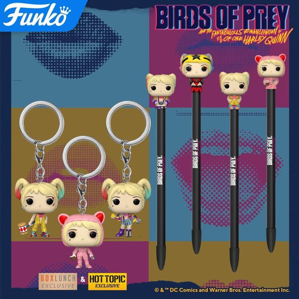 DC Birds of Prey Funko POP Vinyl Mystery Minis