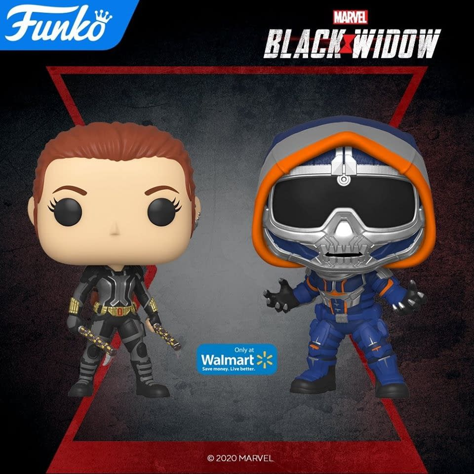 Black Widow Solo Film Gets Upcoming Wave Of Funko Pops