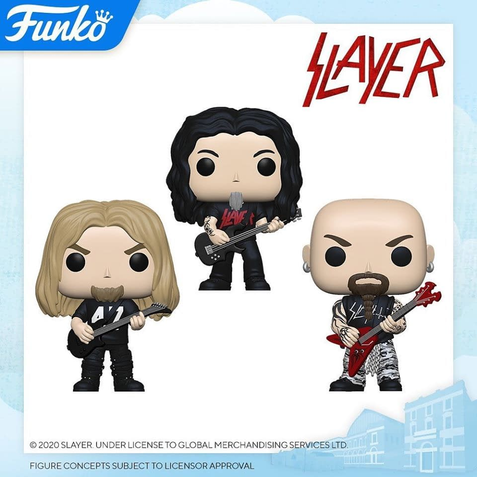 Funko London Toy Fair Reveals - Slipnot, ZZ Top, Slayer, and More!