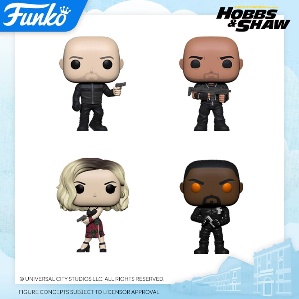 Funko London Toy Fair Reveals- Dinosaurs, Star Trek, and Hobbs & Shaw