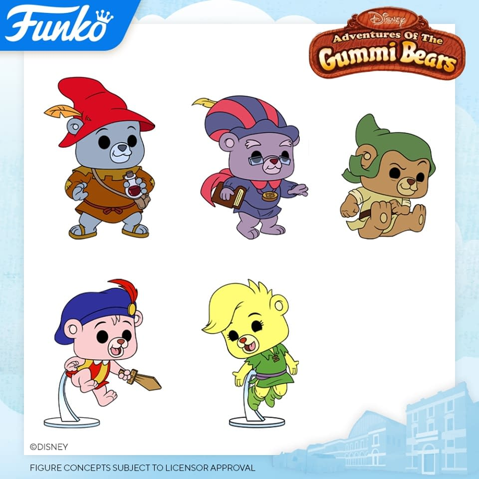 Funko London Toy Fair Reveals- Onward, Gummi Bears, and Great Mouse Detective