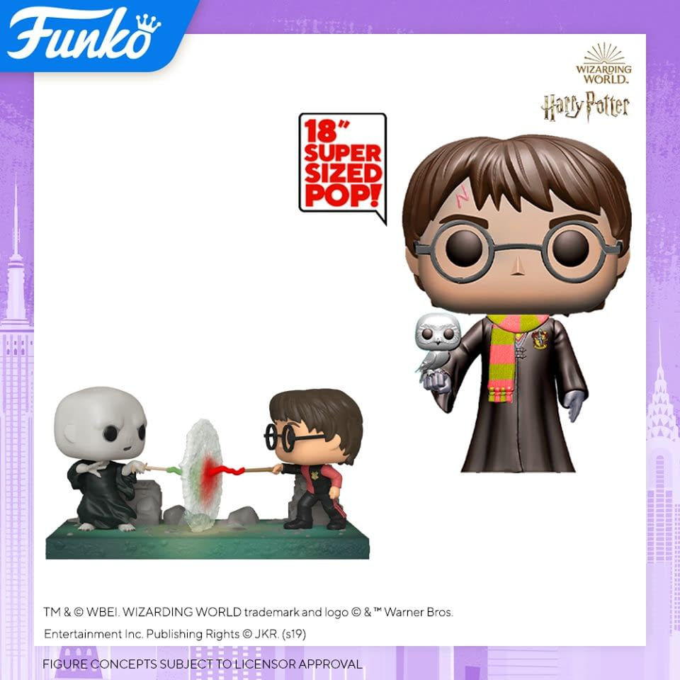 Funko Pop New York Toy Fair Reveals - Harry Potter and Flintstones