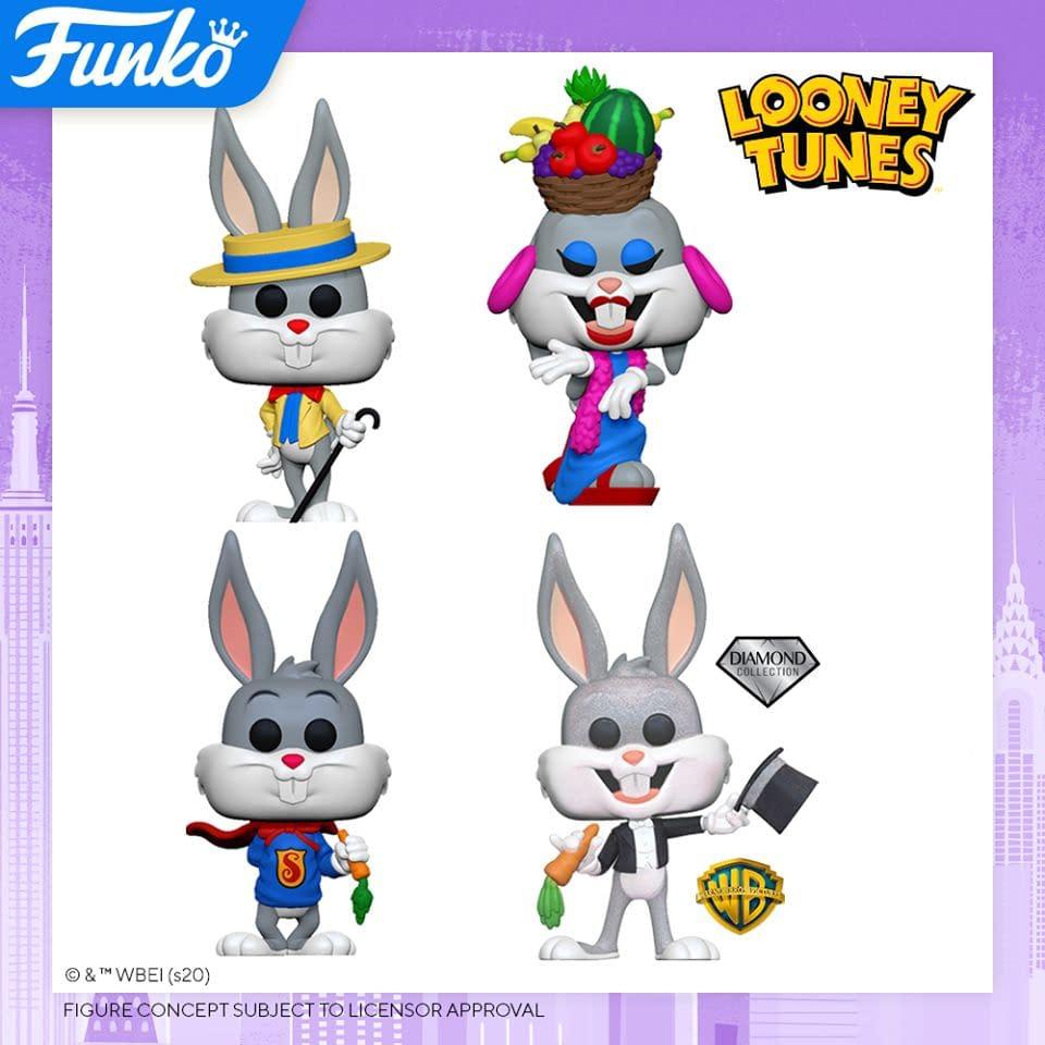 Funko Pop New York Toy Fair 2020 Reveals - Bugs Bunny