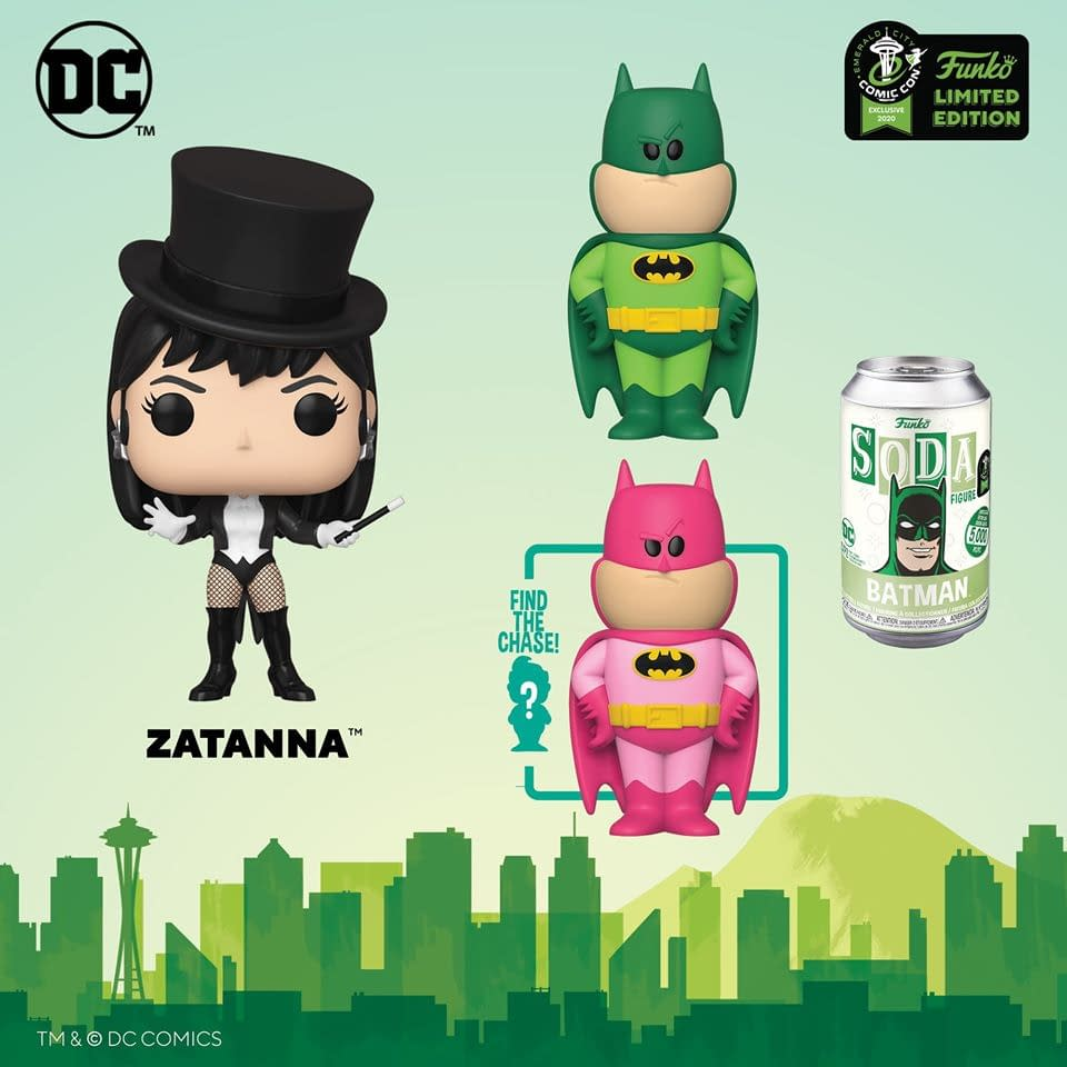 Funko Emerald City Comic Con Reveals