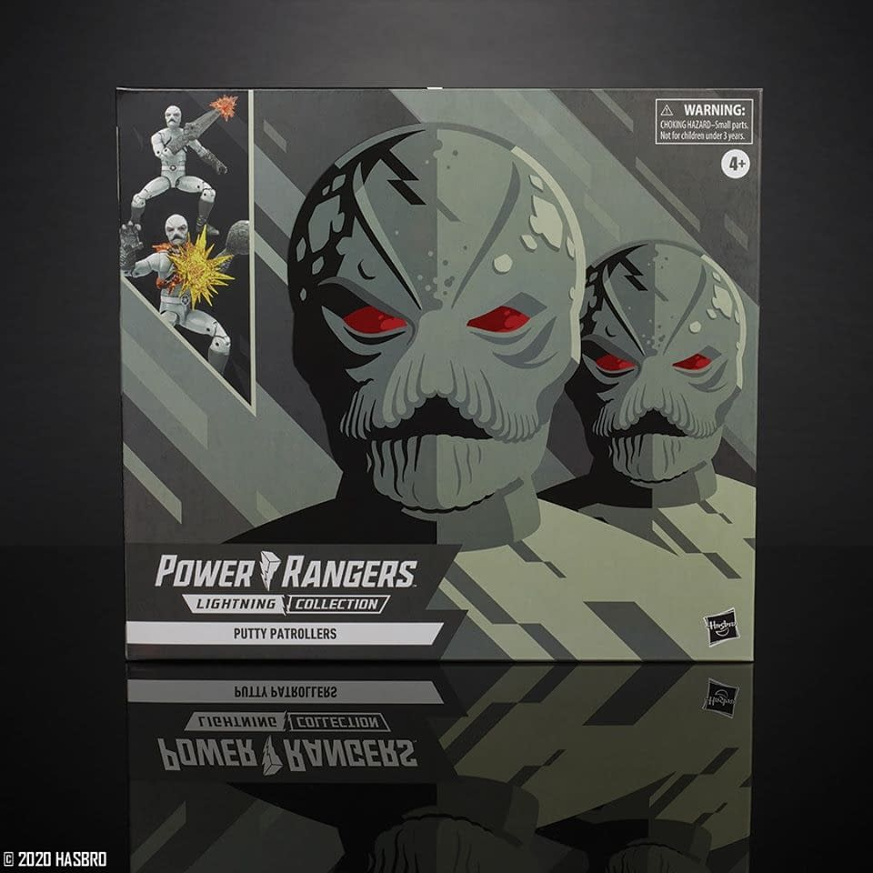 Power Rangers Lightning Collection Mighty Morphin Putty Patrollers 2-Pack (Hasbro Pulse Exclusive)