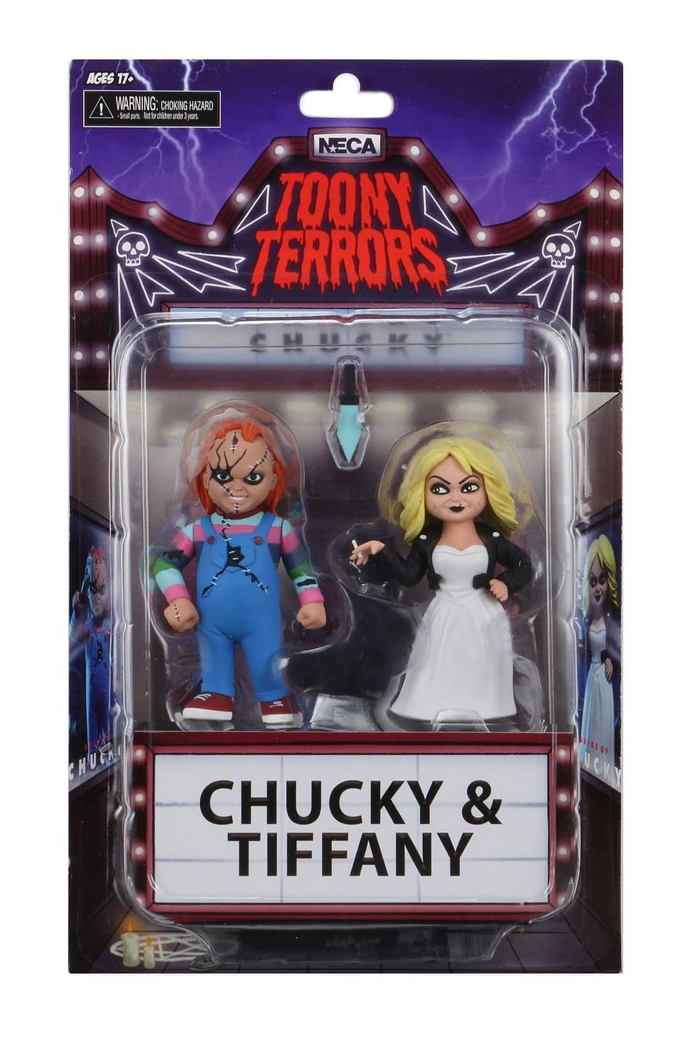 Chucky and Tiffany Tooney Terrors Final Product Revealed from NECA
