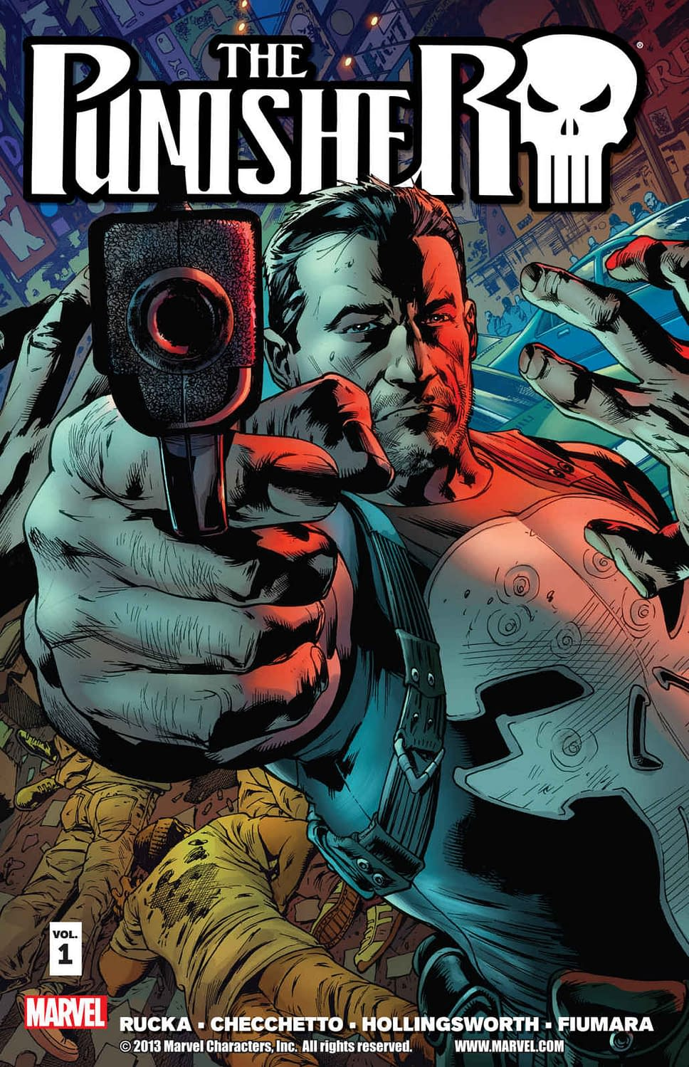Marvel Doesn't Want You To Read Greg Rucka's Punisher