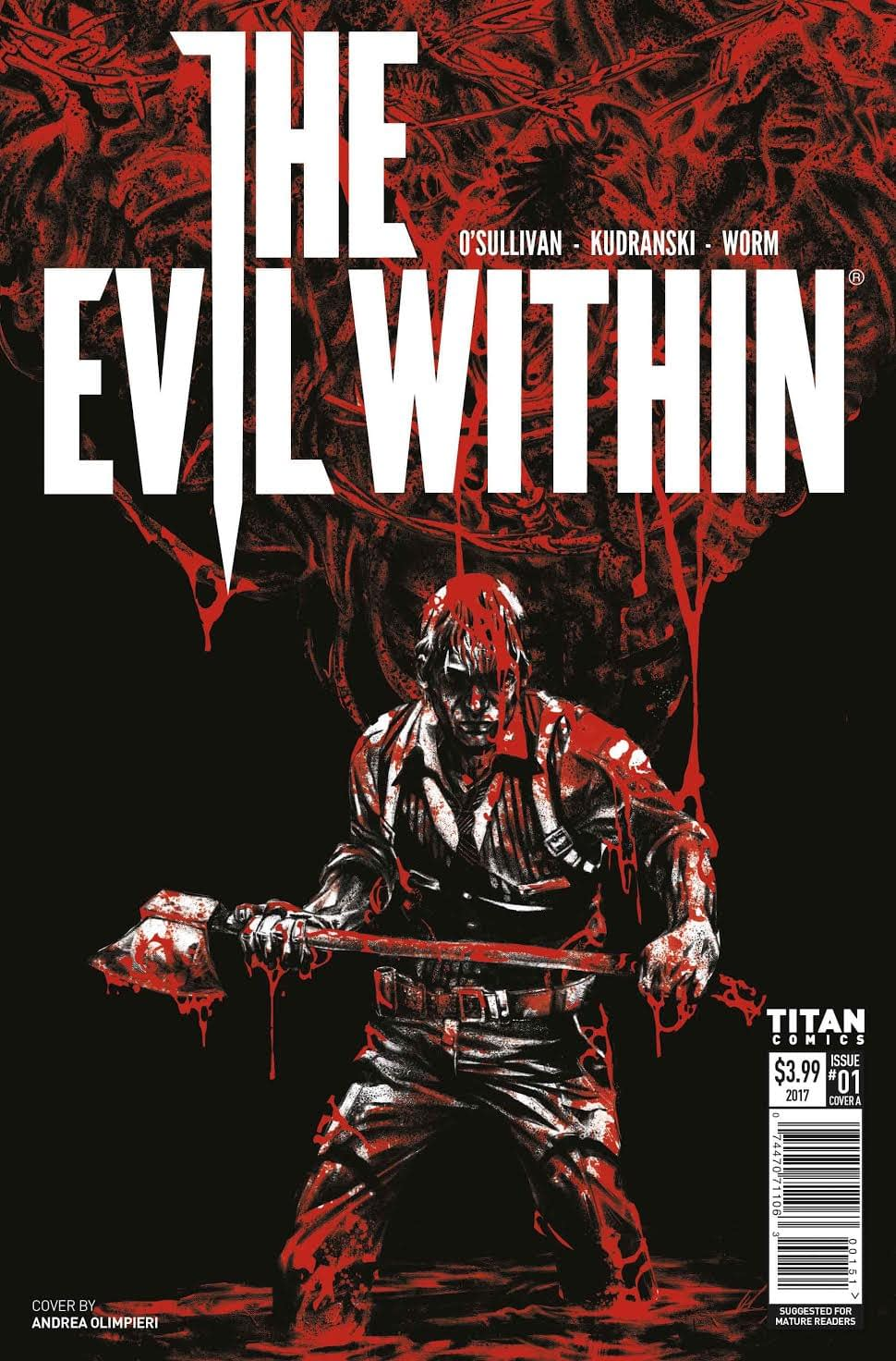 "Titan And Bethesda Team Up For ""The Evil Within 2,"" ""Wolfenstein 2,"" And ""Dishonored: Death Of The Outsider"" Tie-In Comics"