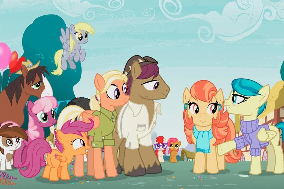 My Little Pony Friendship Is Magic Introduces Scootaloo S Lesbian Aunts Plans are made for a camping trip. my little pony friendship is magic