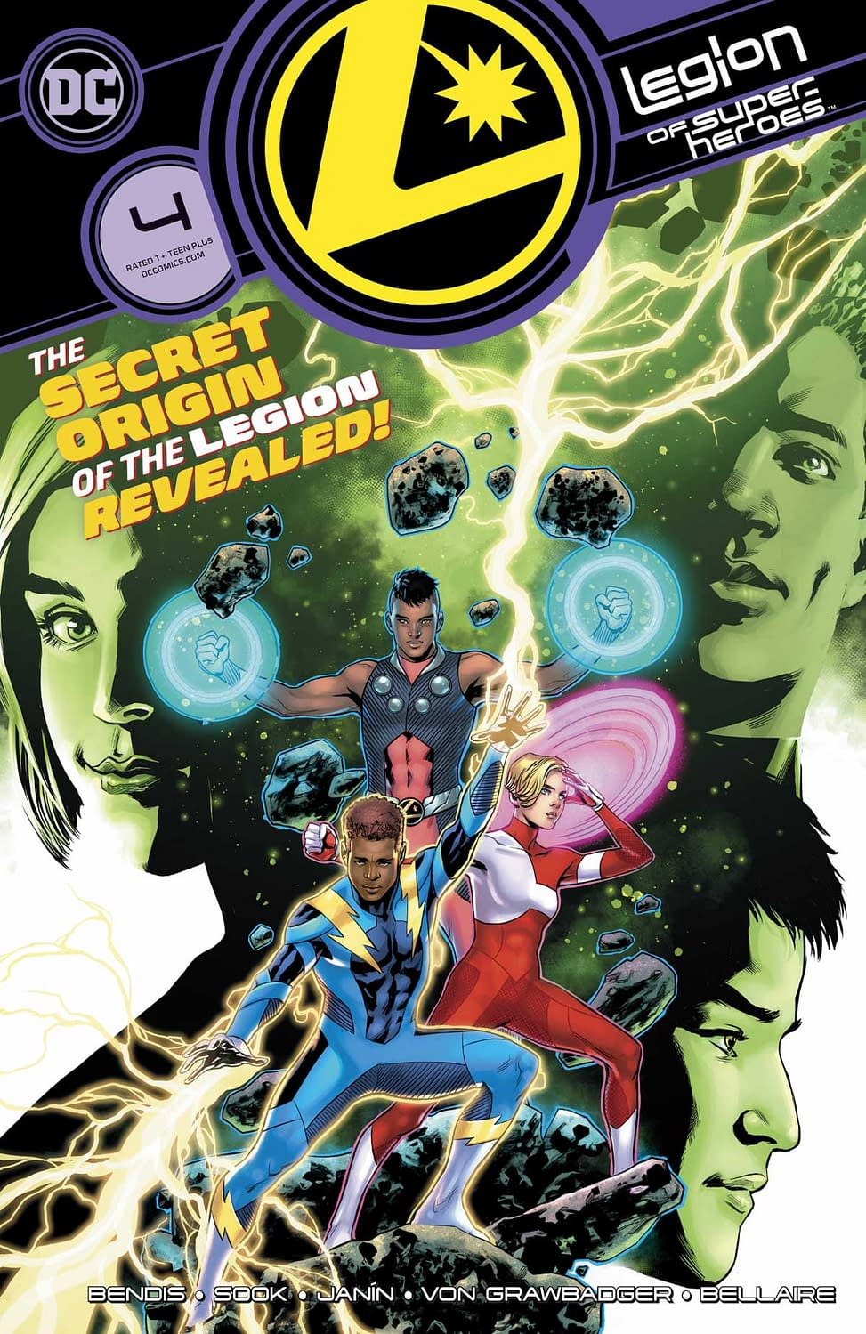 "REVIEW: Legion Of Super-Heroes #4 -- ""The Real First Issue Of The Latest Futuristic Reboot"""