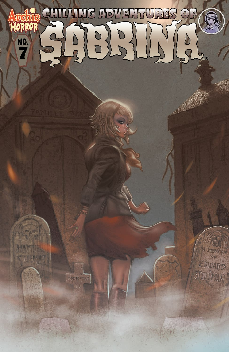 Check Out This 'The Chilling Adventures Of Sabrina #7' Preview; Issue In Stores Tomorrow