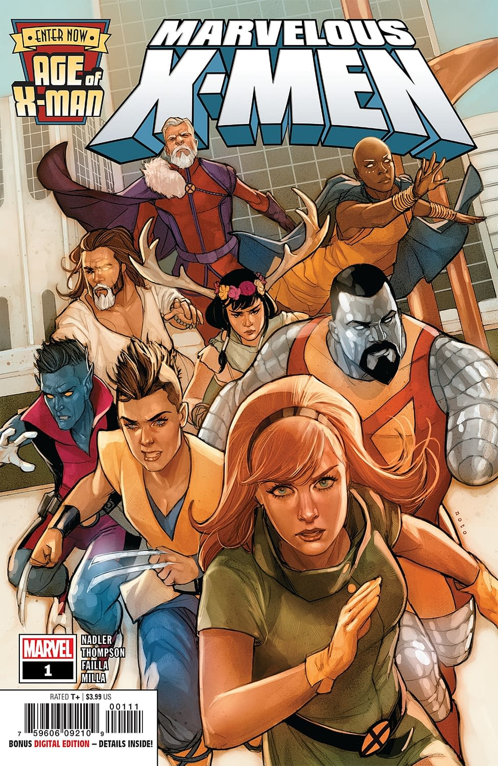 Nate Grey is a Master Retconner in Next Week's Age of X-Man: Marvelous X-Men #1