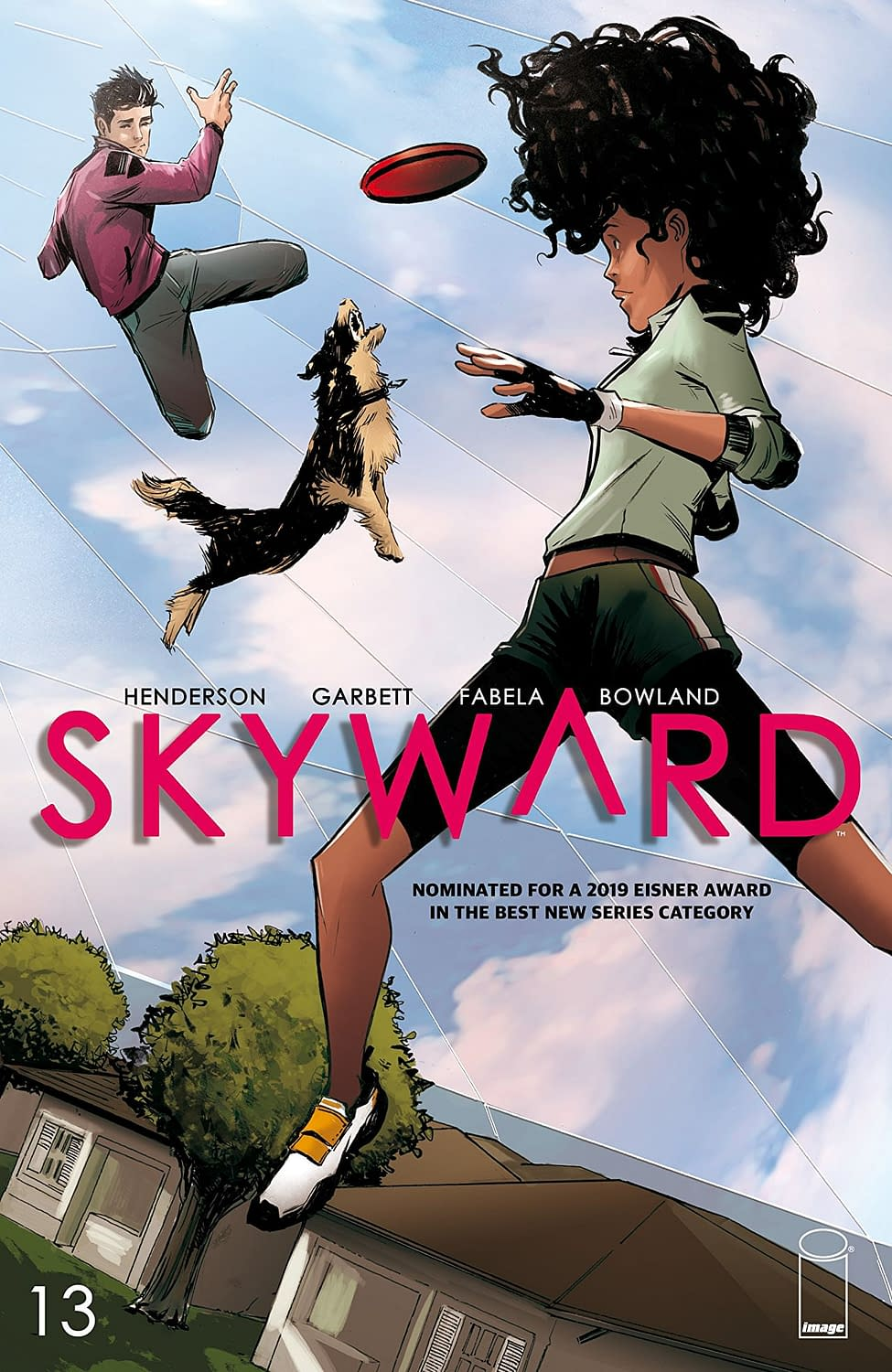 'Skyward' #13 Brings Levity and Comedy to a World with Low Gravity (REVIEW)