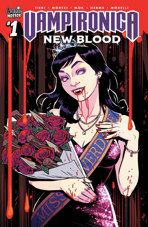 Frank; Moreci Vampironica 2 : New Blood A... Michael; Mok Paperback by Tieri
