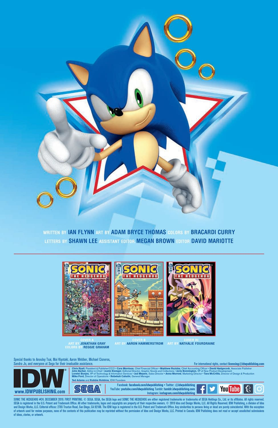 Sonic the Hedgehog #24 [Preview]