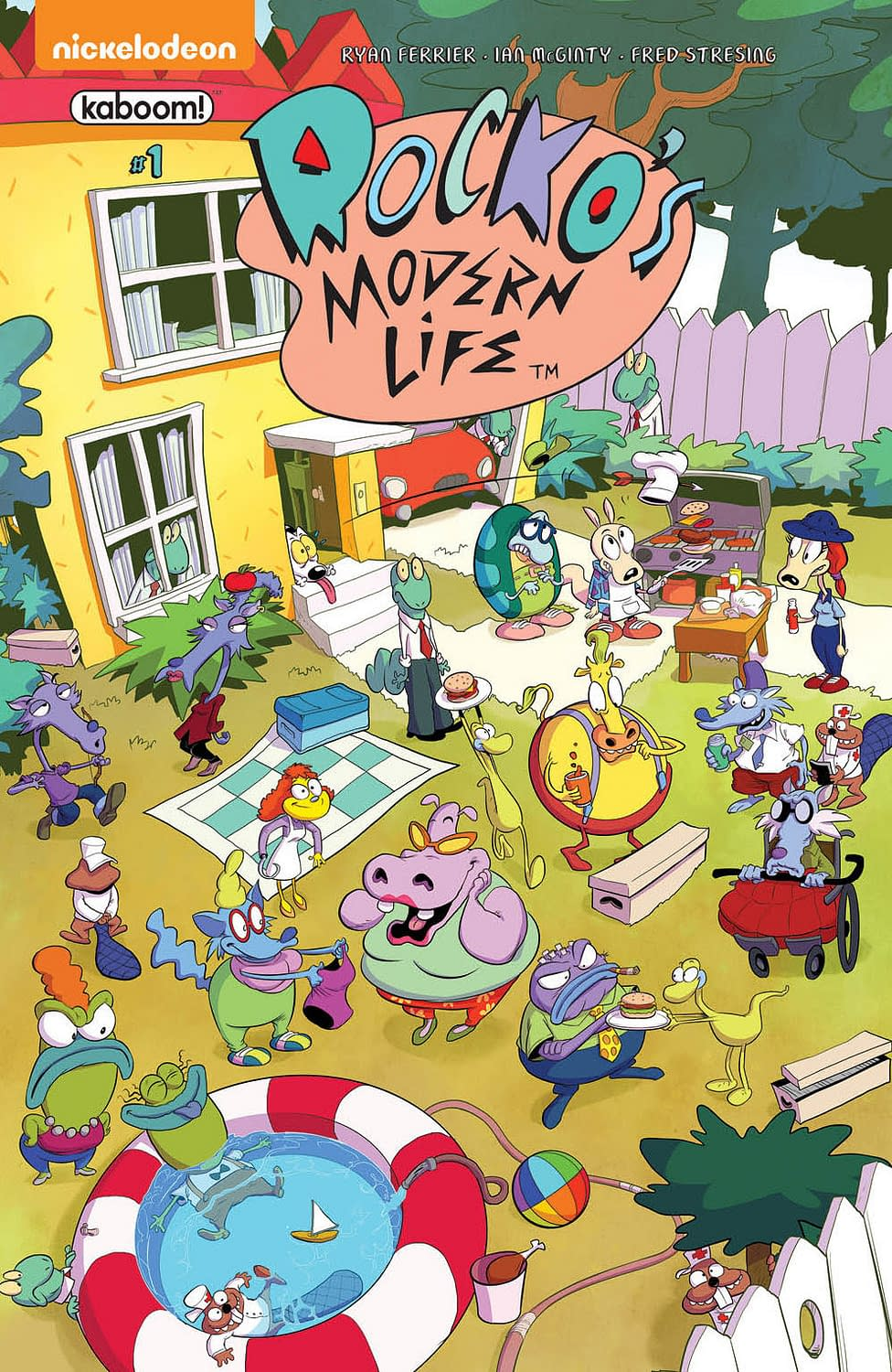 BOOM! Studios Is Launching A Rocko's Modern Life Comic By Ryan Ferrier And Ian McGinty