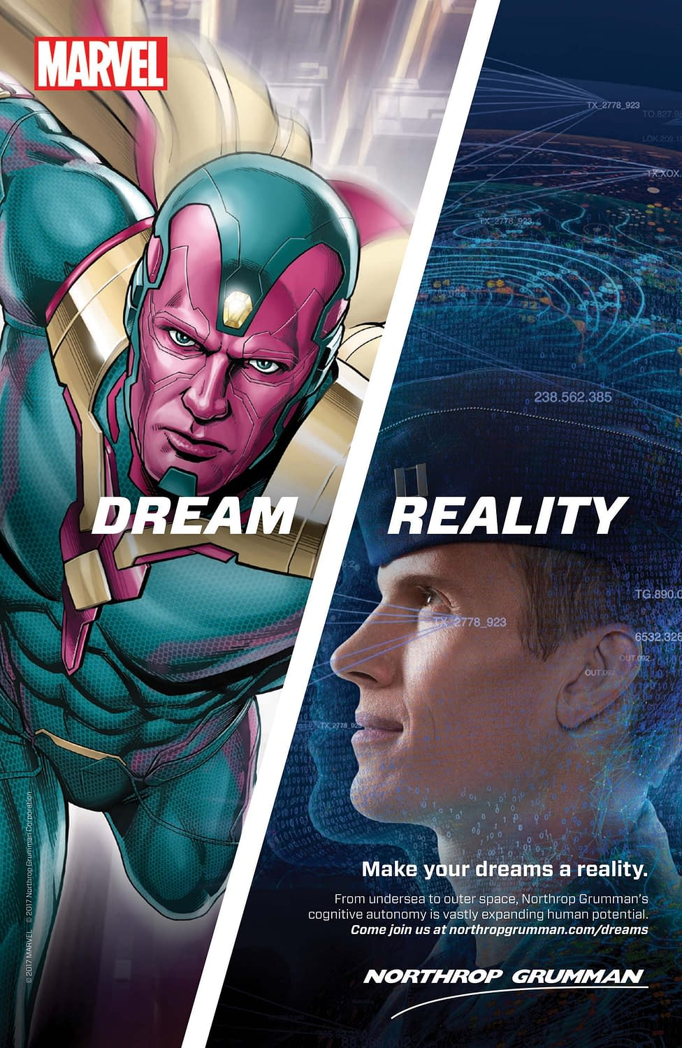 Marvel And Northrop Grumman Seeking Codebreakers For Team-Up Sweepstakes