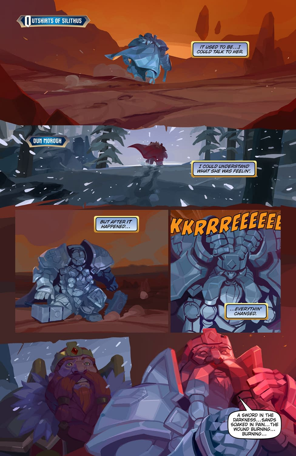 Blizzard Reveals First Pages from the World of Warcraft Comic, Plus a Writer Q&A
