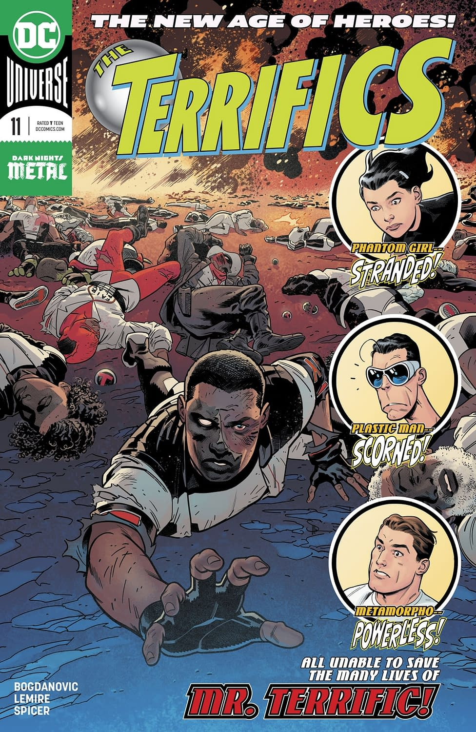 Plastic Man's Reunion with Angel Isn't Going as Planned in Next Week's Terrifics #11