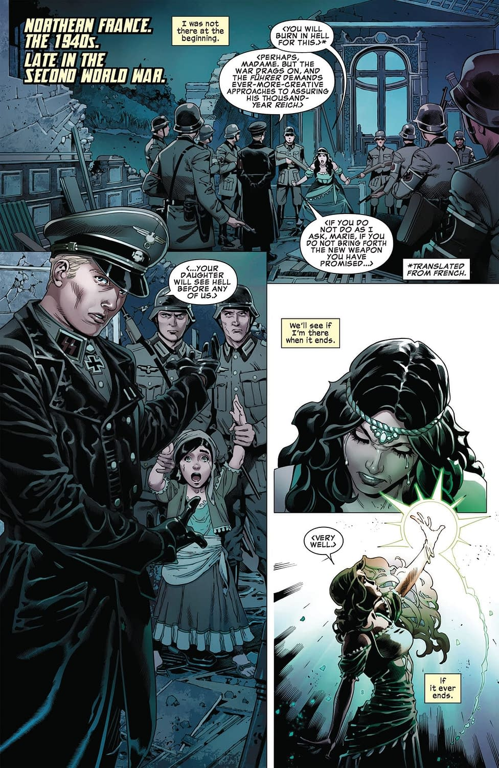 So Many Nazis Will Be Punched in Next Week's Marvel Comics Presents #1