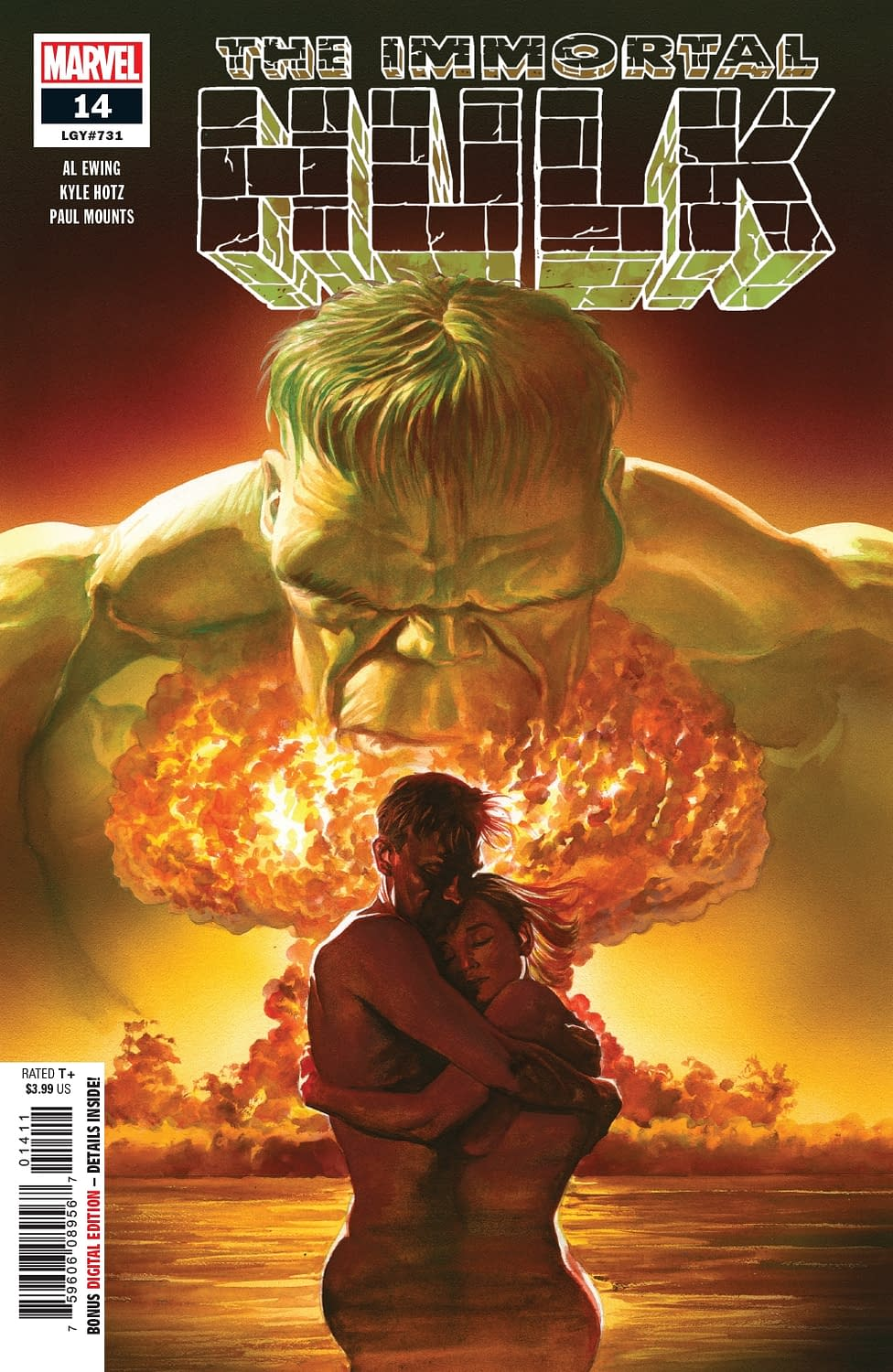 The Fleeting Nature of Death in the Marvel Universe for Next Week's Immortal Hulk #14