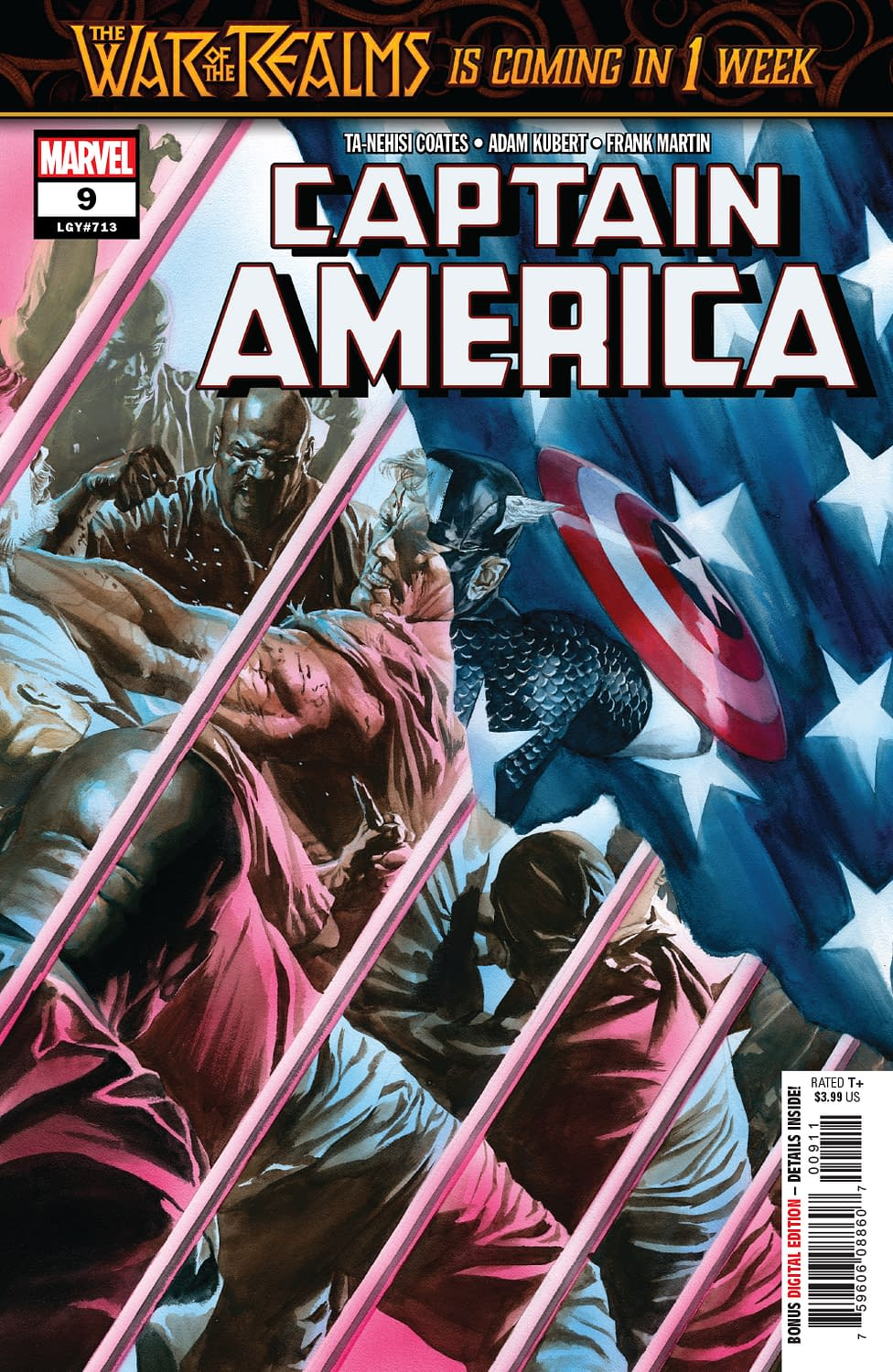 Fake News in Action in Next Week's Captain America #9