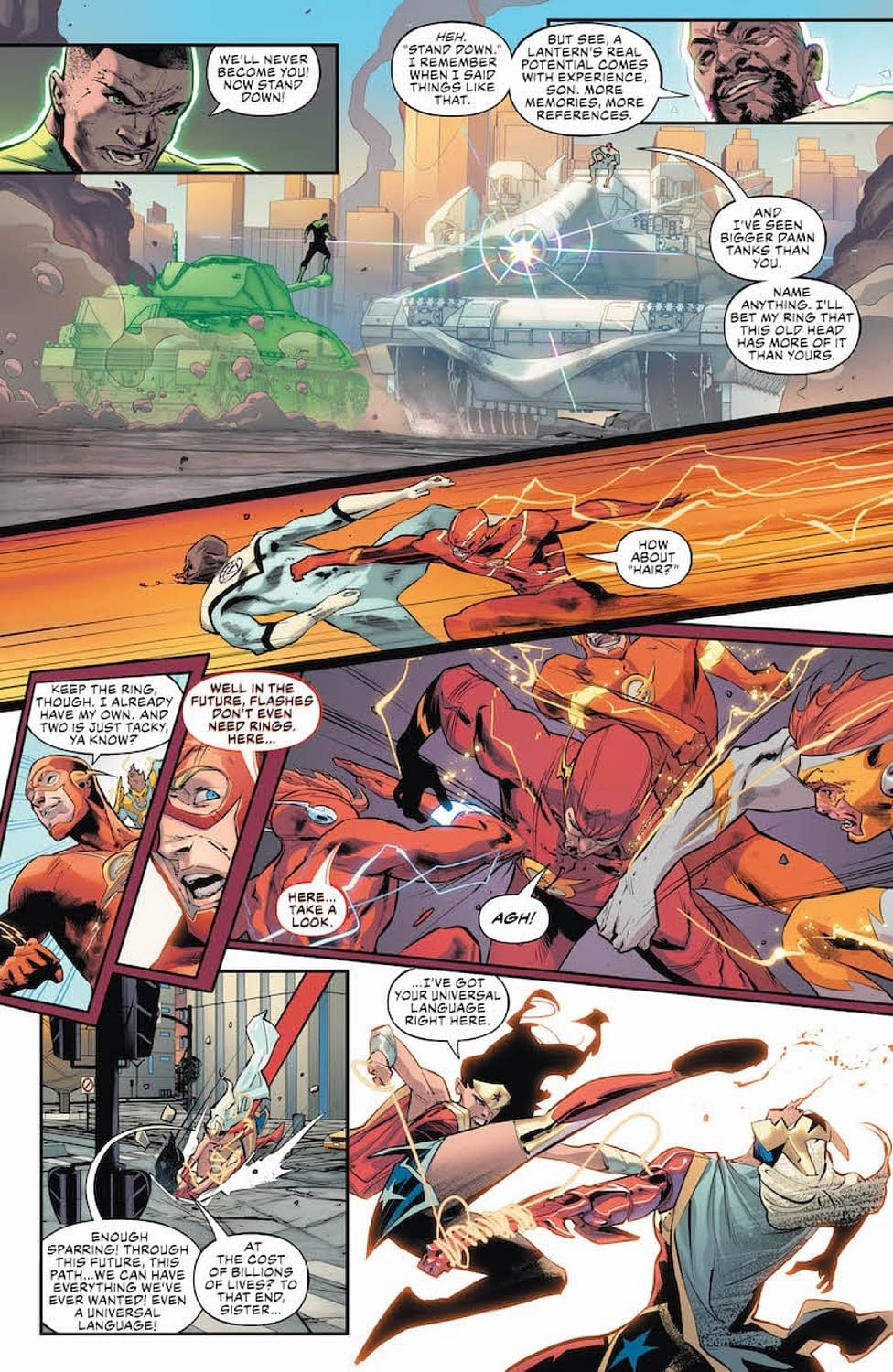 Superman Still Can't Stop Imagining Lois's Death (Justice League #24 Preview)