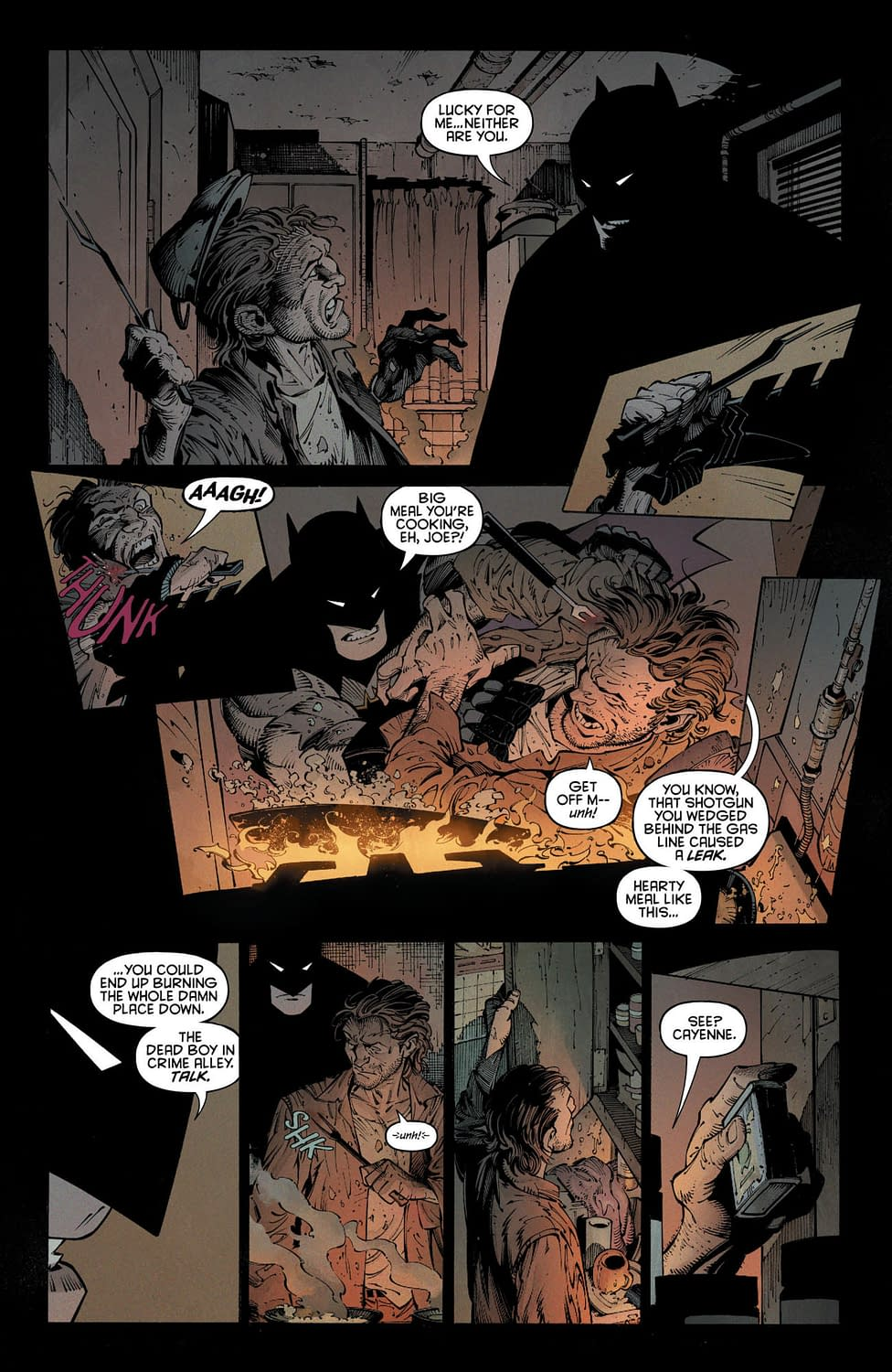 Could the Joker be Batman's Last Robin? Last Knight on Earth #2 Preview