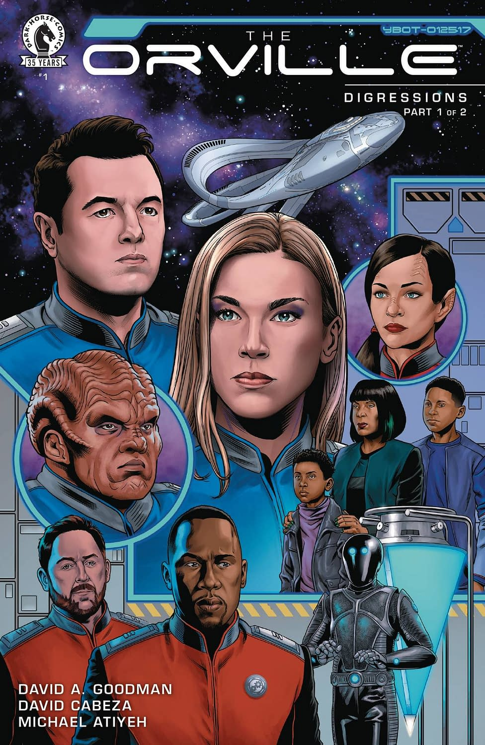 ORVILLE DIGRESSIONS #1 (OF 2)