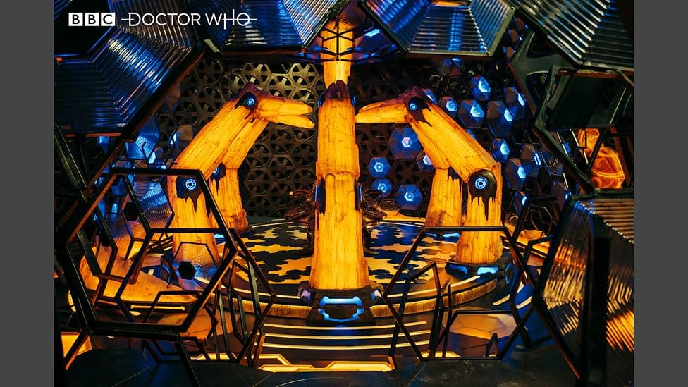 """""""Doctor Who"""": BBC Takes Viewers Inside Series 12 TARDIS – Where There's """"Space. For All."""" [IMAGES]"""