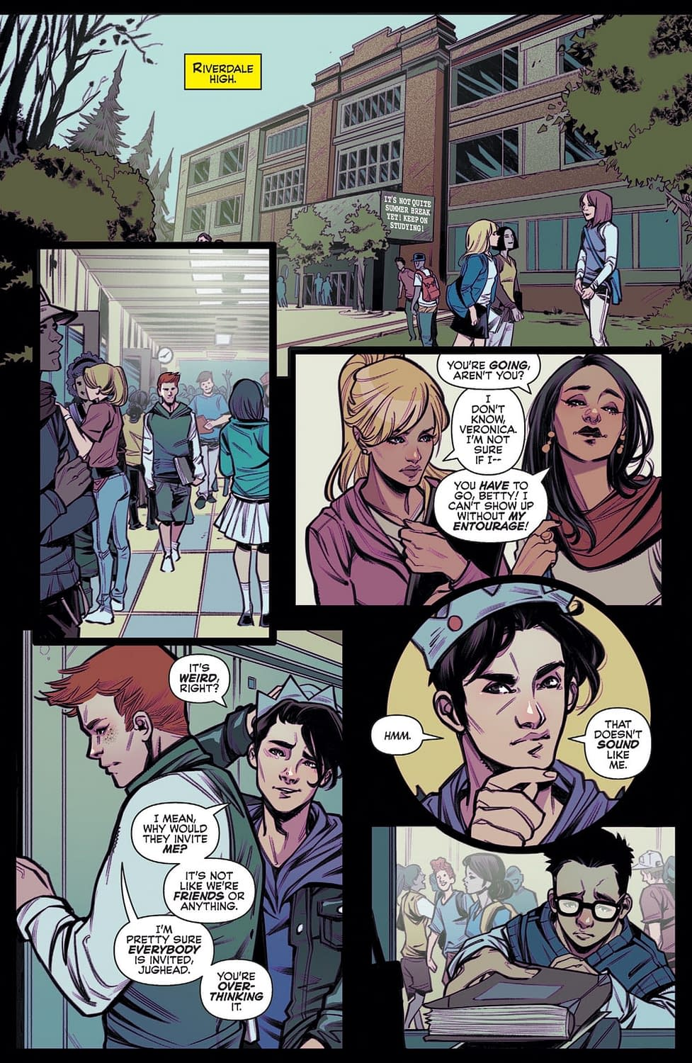 Cheryl's Tips for Dealing with Bullies in Next Week's Blossoms 666 #1