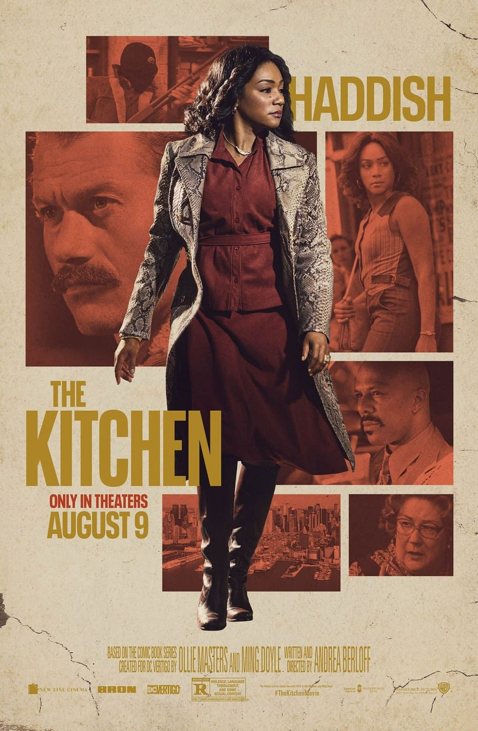 "New Trailer and 3 New Character Posters for ""The Kitchen"""