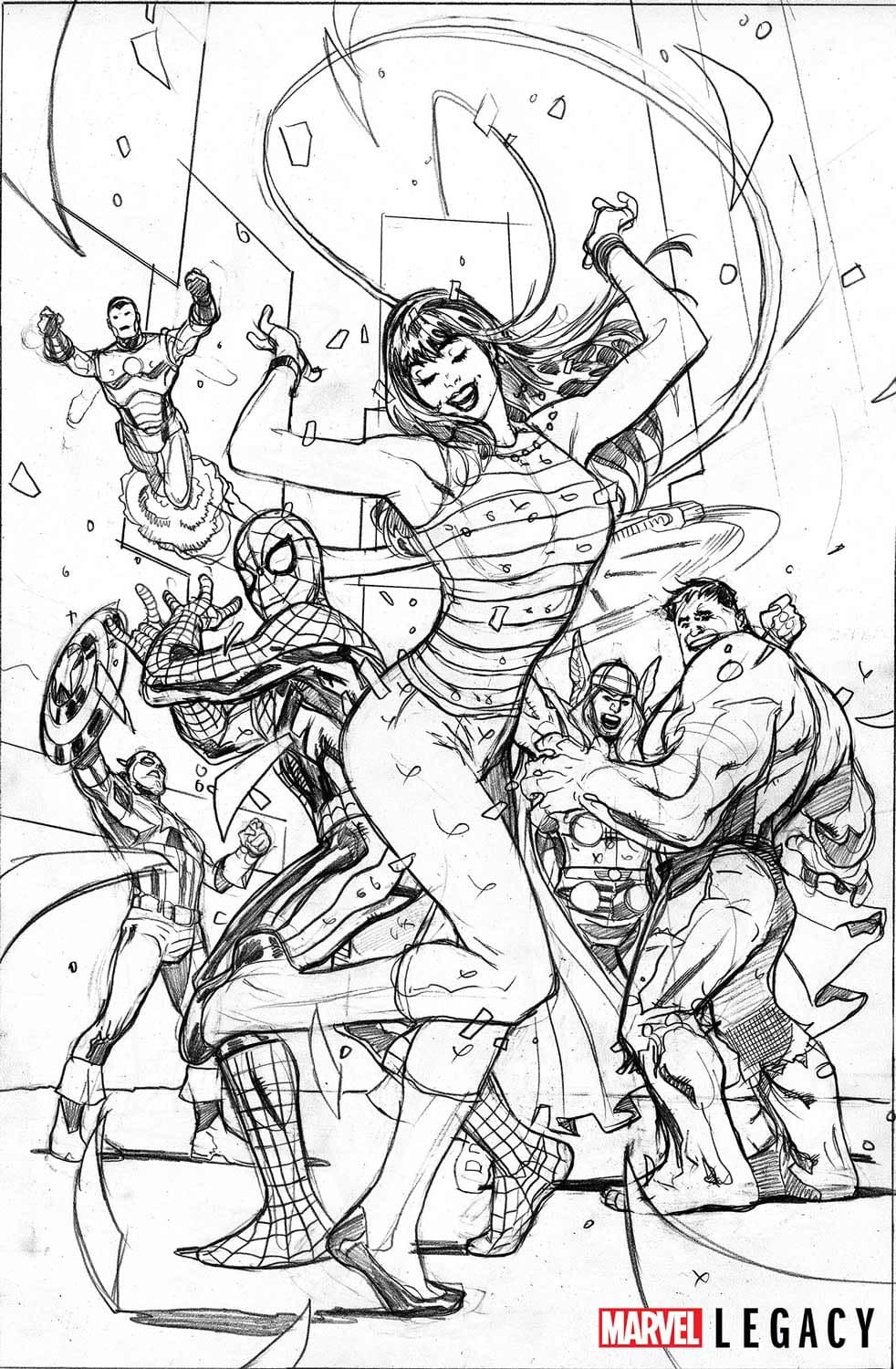 Ain't No Party Like A Marvel Legacy Party, 'Cause A Marvel Legacy Party Don't Stop