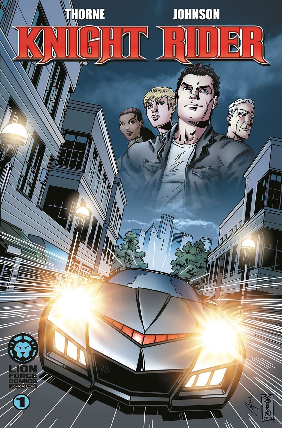 LionForge_KnightRider_Cover