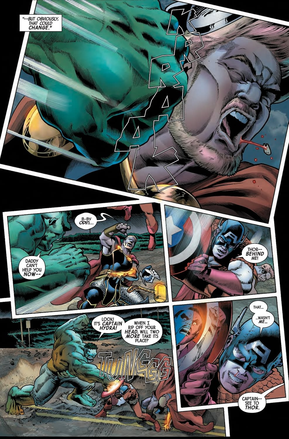 The Hulk Still Hasn't Gotten Over Secret Empire (Immortal Hulk #7 Preview)