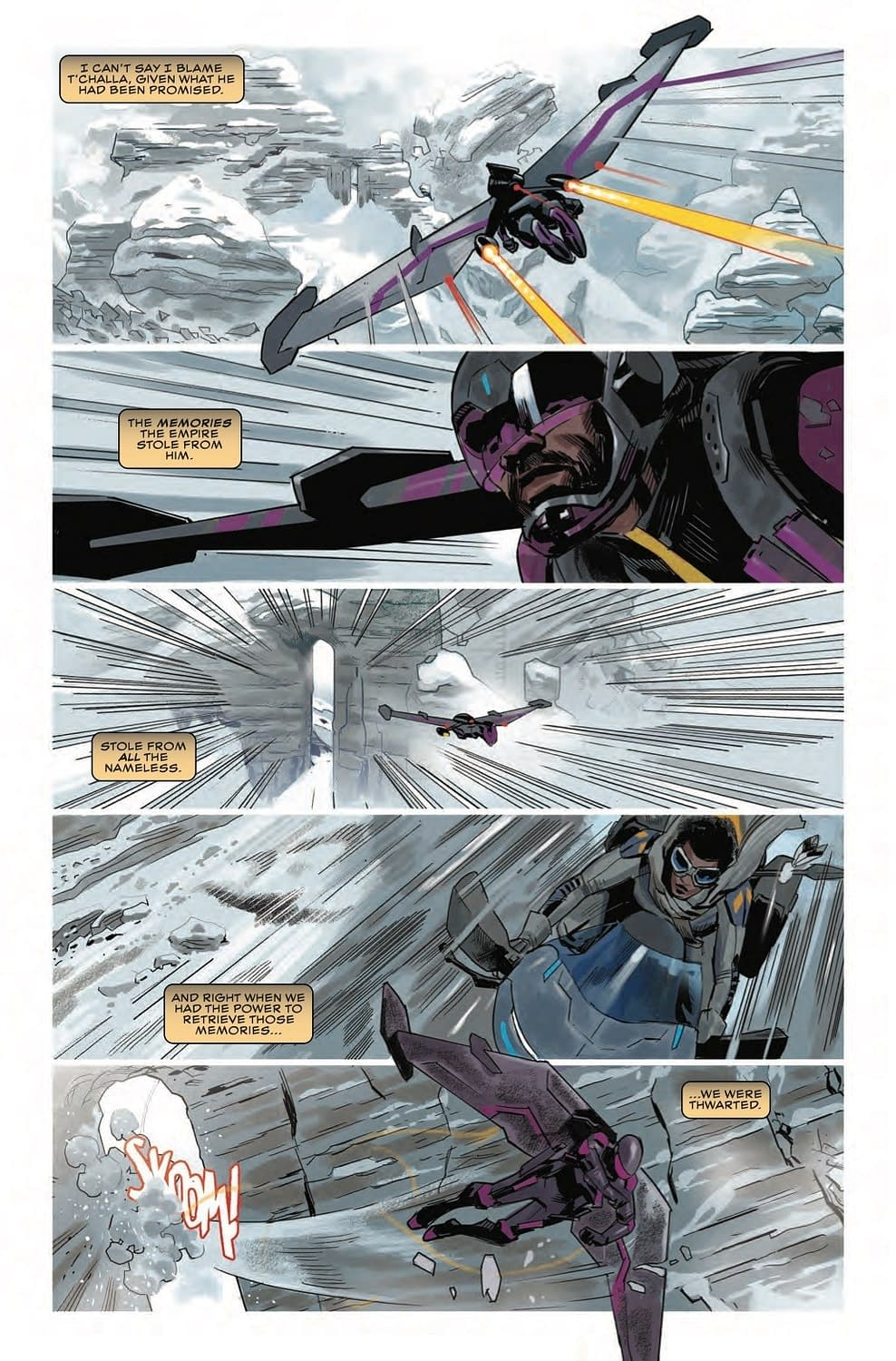Jogging the Black Panther's Memory in Preview of Next Week's Black Panther #5