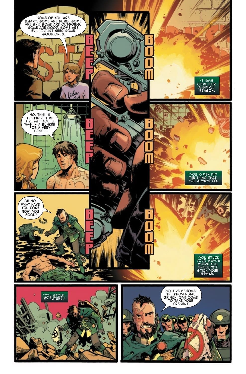 Does Next Week's Multiple Man #5 Finally Explain What's Going On?