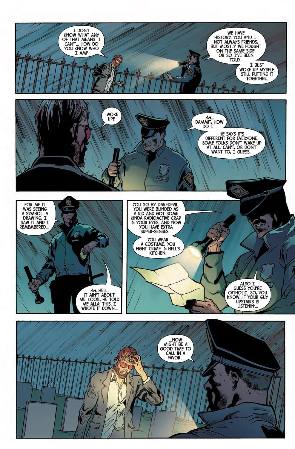 Punisher Cop Reveals Someone Has Rebooted the Marvel Universe in Next Week's Marvel Knights #1