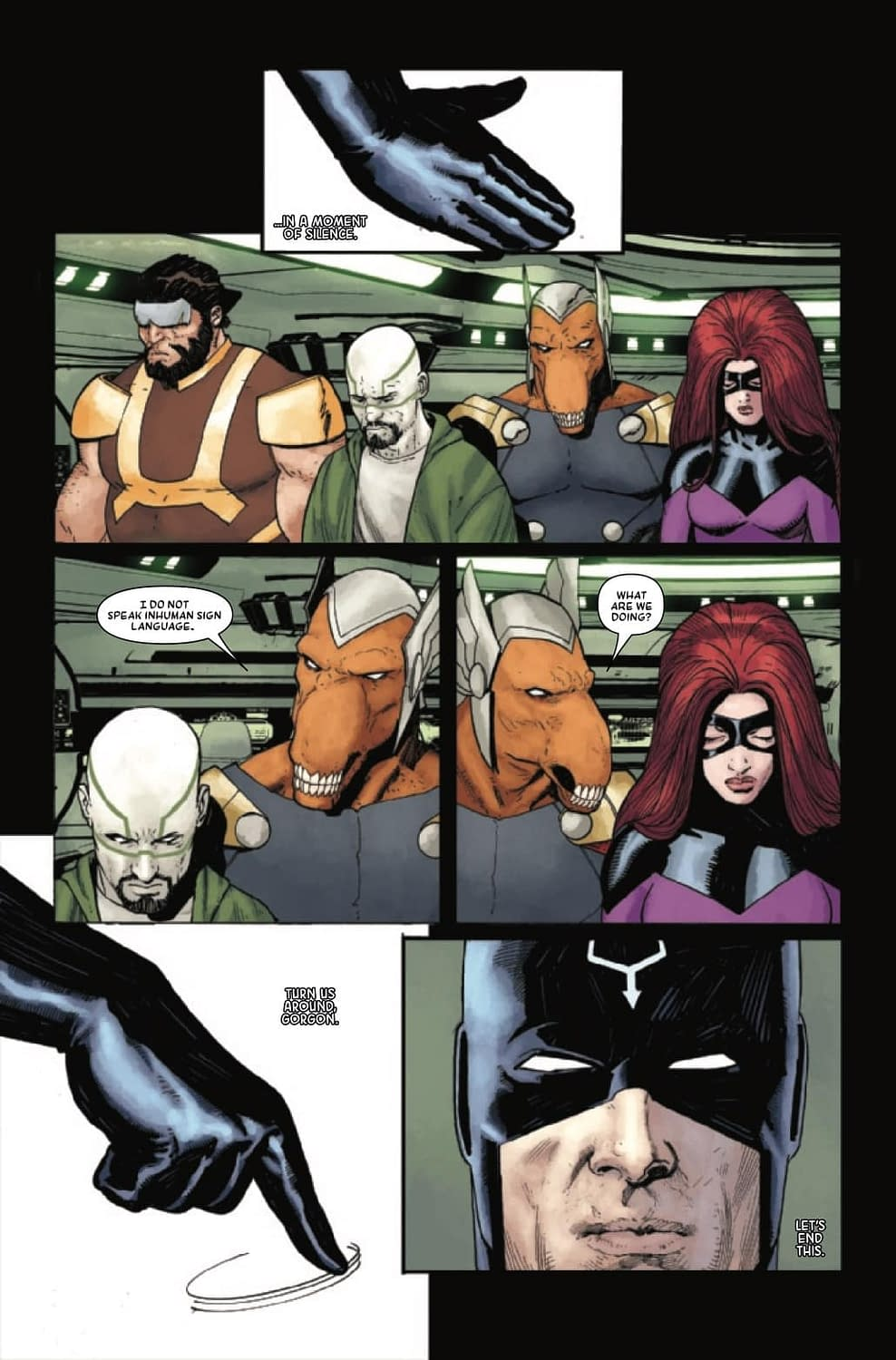 Black Bolt Has Just One Scream Left in Next Week's Death of the Inhumans Finale