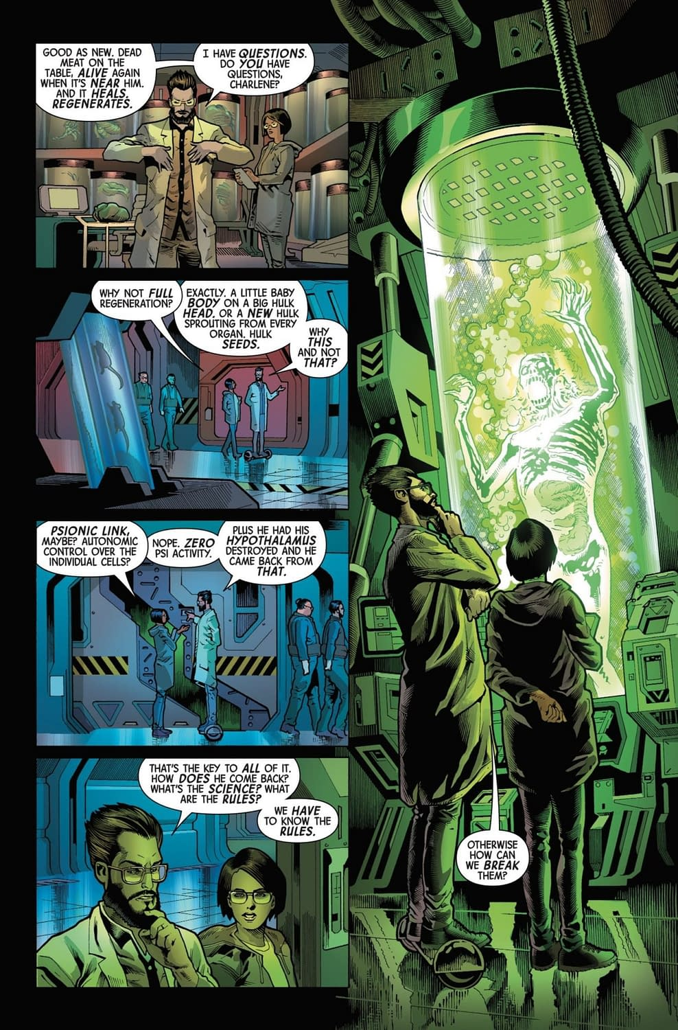 The Death of Civility in Next Week's Immortal Hulk #8