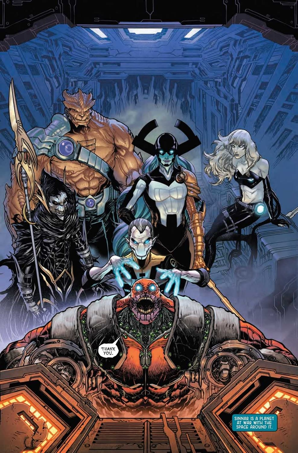 Proxima Midnight's Tips for a Happy and Healthy Sex Life in Next Week's Black Order #2