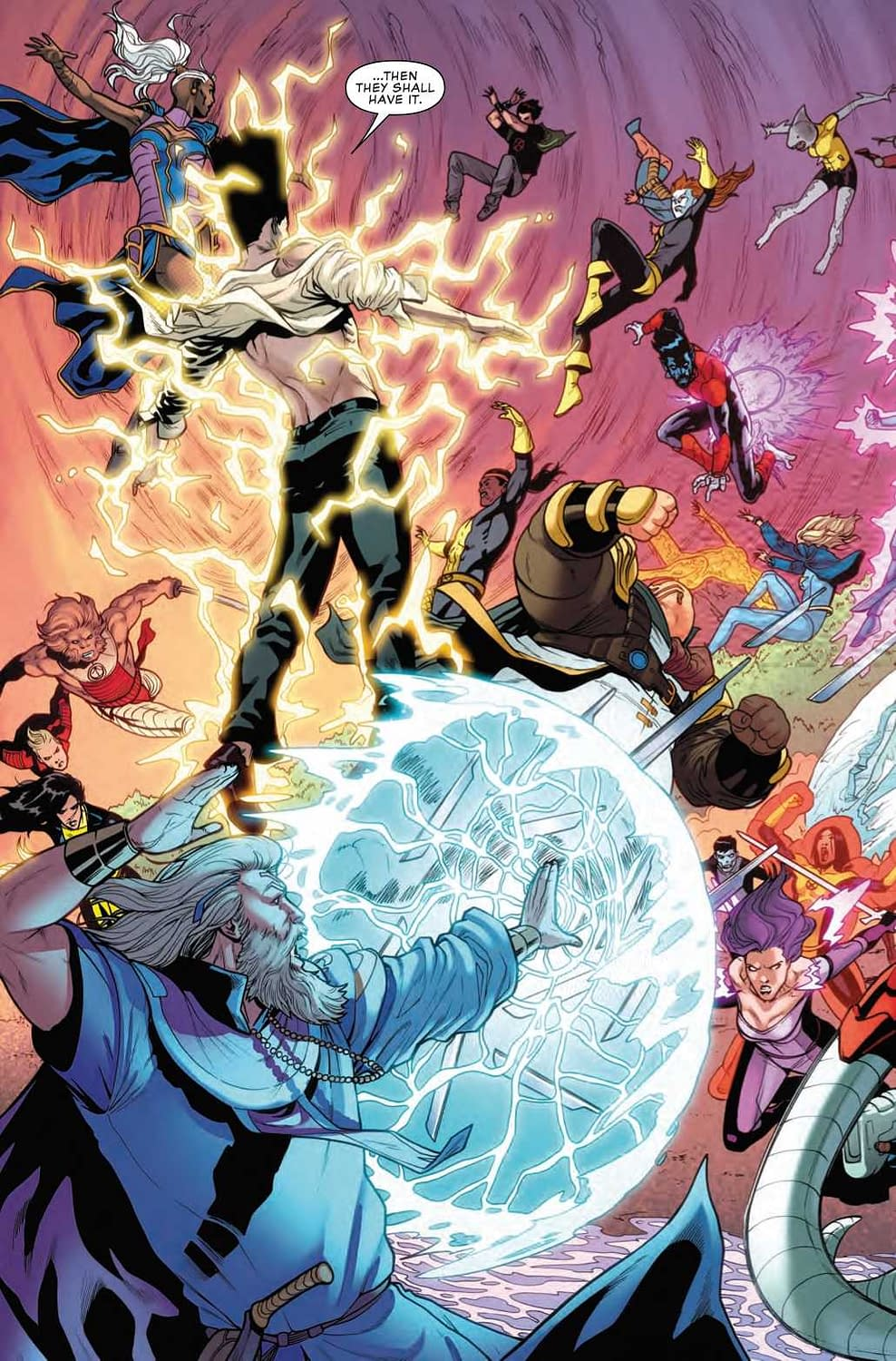 The X-Men Get What They Asked For in Next Week's Uncanny X-Men #10