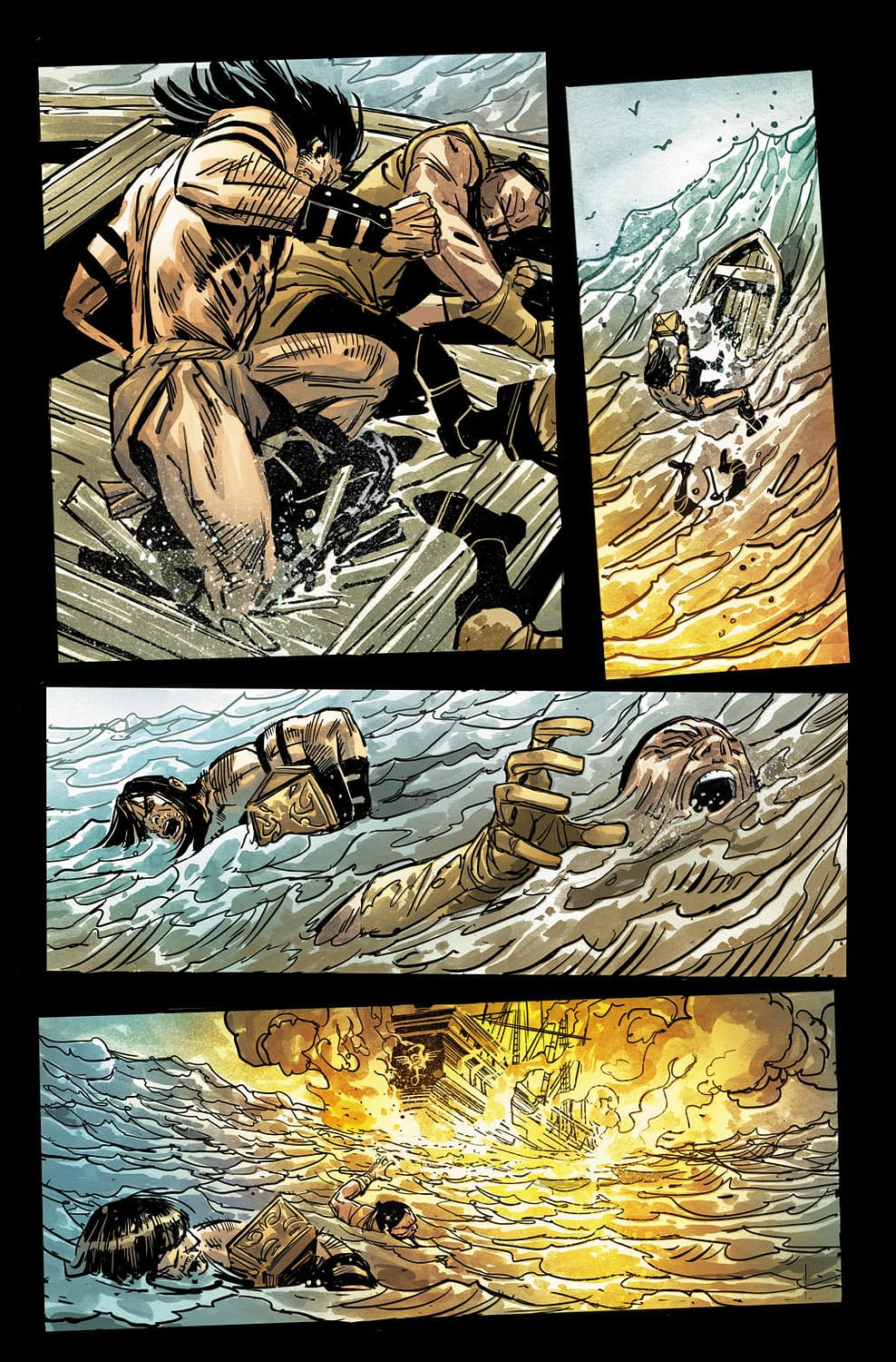 Conan Goes for the Low Blow in First Look at Savage Sword #1