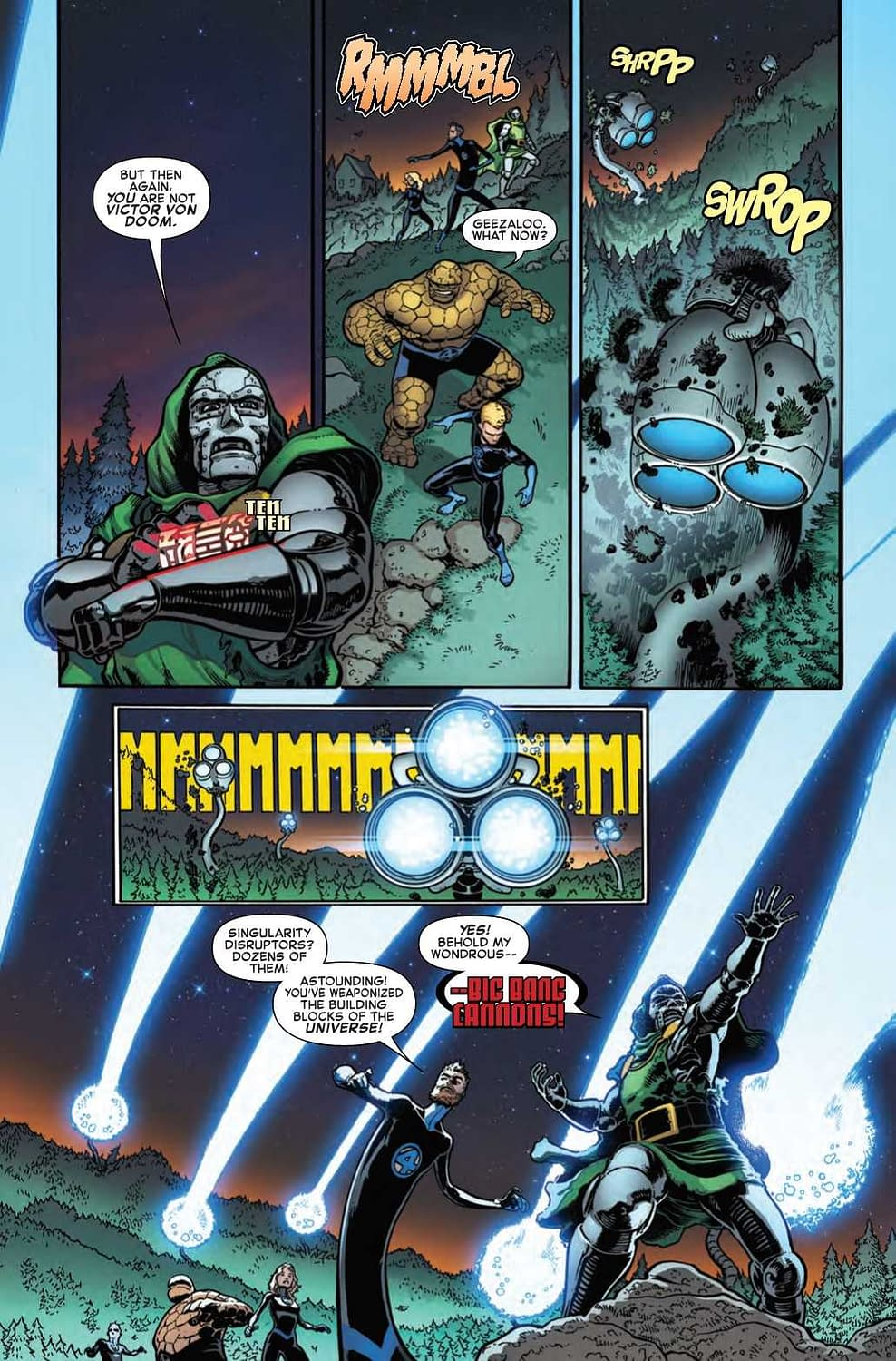 The Fantastic Four Take Orders from Doom in Next Week's Fantastic Four #7