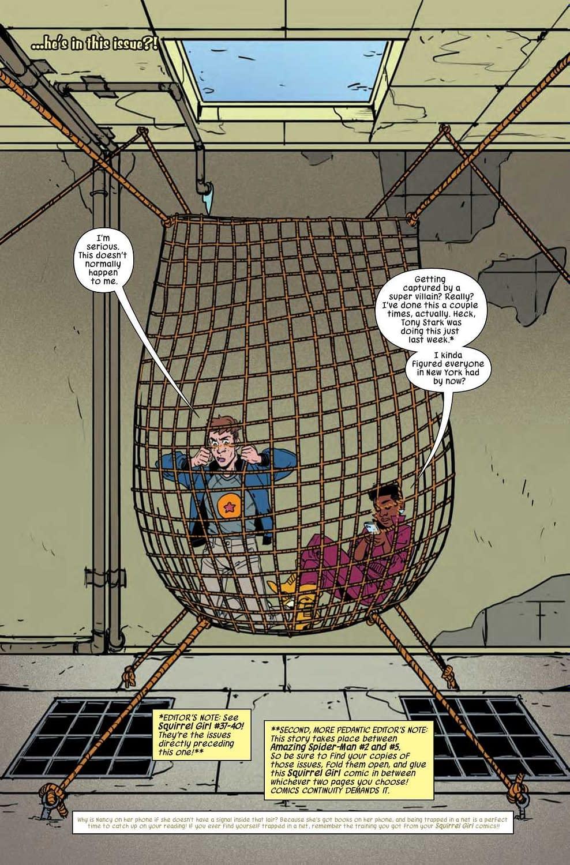 Retelling Spider-Man's Origin Again in Next Week's Unbeatable Squirrel Girl #41